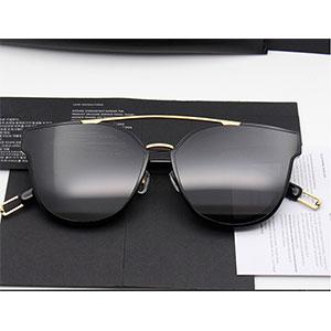 China manufacturer hot selling metal and acetate sunglasses women