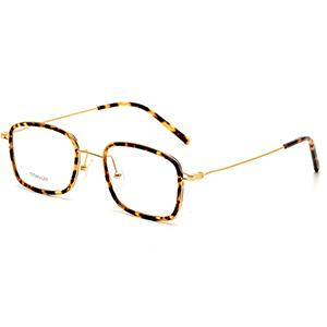 Branded eyewear metal  frames titanium men eyewear