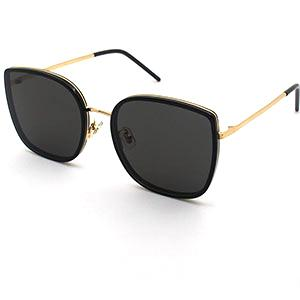 Hanya hot selling Italy design metal sunglasses handmade oversized sunglasses 2019