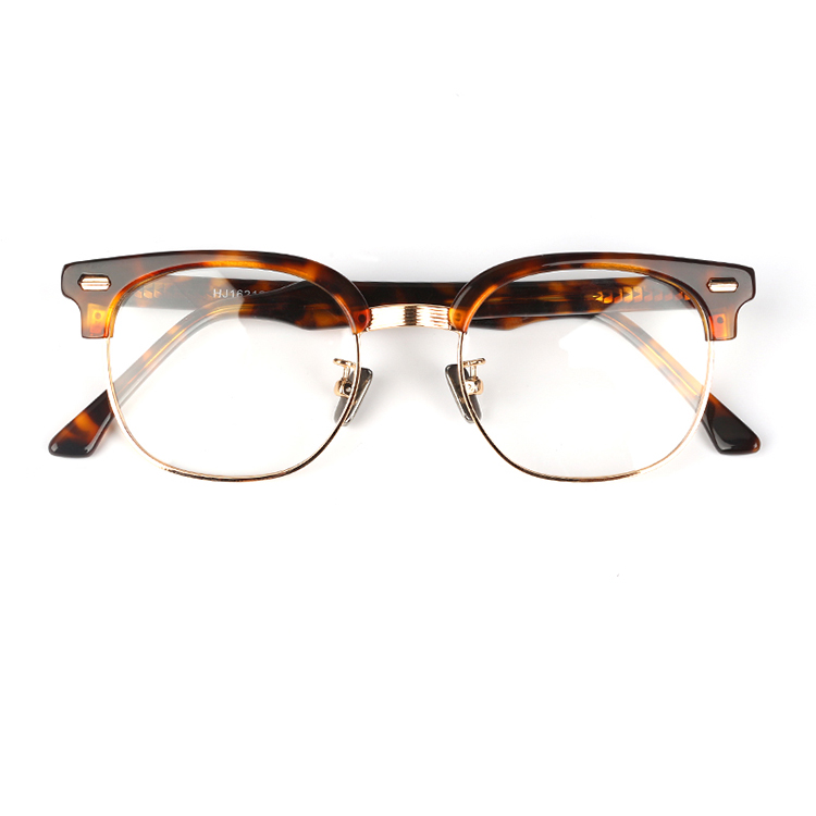 Fashion Customized  rayband acetate and metal computer glasses