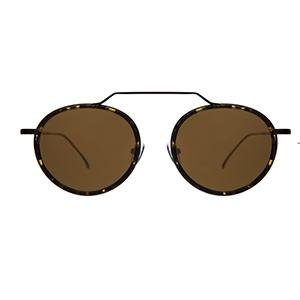 Acetate and metal round vintage sunglasses UK