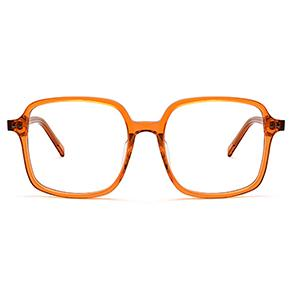 Ready stock square transparent oversize eyeglasses frame