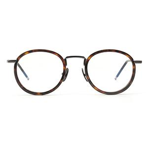 Metal and acetate bifocal eyeglasses frames